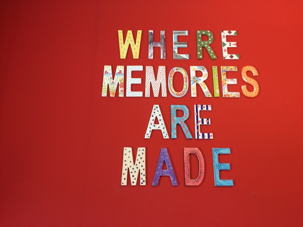 Where memories are made